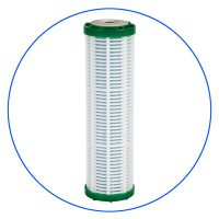 Sediment filter cartridge with Antimicrobial media