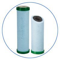 Sediment filter with Antimicrobial Block Activated Carbon cartridge 10 inch