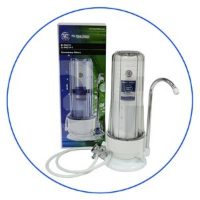 2 stage countertop water filter
