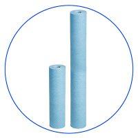Bacteriostatic polypropylene spun cartridges