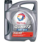 Total quartz ineo mc3 5w40 5ltr