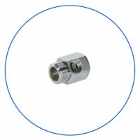 FT03 Brass Chrome Plated Coupling