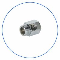 FT06 Brass Chrome Plated Coupling