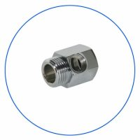 FT07 Brass Chrome Plated Coupling