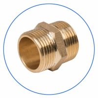 FXCG112-B Brass, Threaded Filter Housing Connector