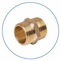 FXCG114-B Brass, Threaded Filter Housing Connector